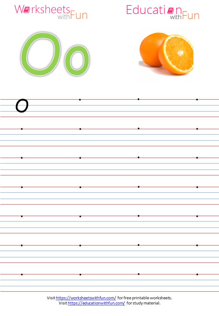 English Preschool Capital Letter O Practice Page - 32+ Letter O Worksheets For Kindergarten Pdf Pics